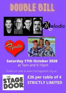 DOUBLE BILL - Melodic & The Fifinellas