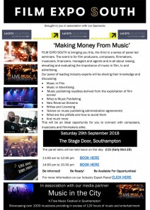 Film Expo South - 'Making Money From Music'