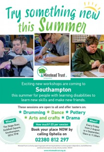 Minstead Trust Summer Workshops
