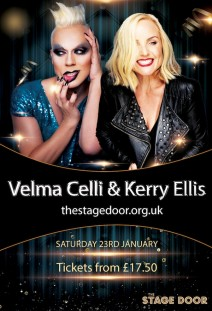 Velma Celli and Kerry Ellis - *** POSTPONED