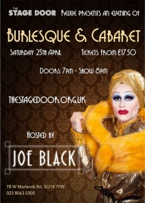 Burlesque & Cabaret hosted by Joe Black