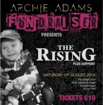 Archie Adams Fundaiser - The Rising