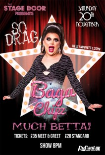 BAGA CHIPZ from RuPaul's Drag Race UK
