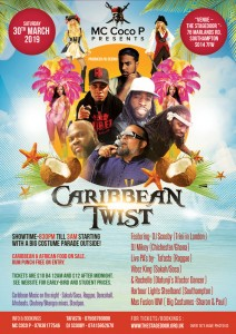 MC Coco P Presents Caribbean Twist