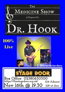 The Medicine Show - A Tribute to Dr Hook ** CANCELLED