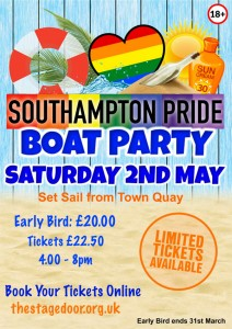 Southampton Pride Boat Party *** CANCELLED