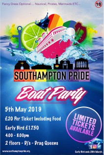 Southampton Pride Boat Party