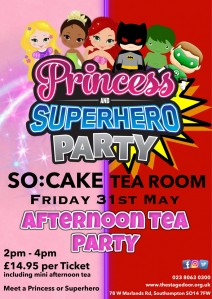 Princess and Superhero Afternoon Tea Party