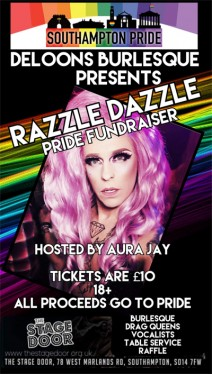 Deloons burlesque presents razzle dazzle