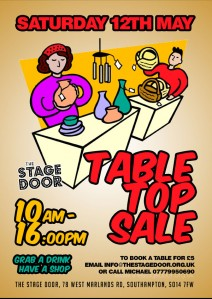 Table Top Sale ** CANCELLED