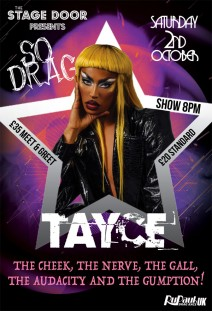 TAYCE from RuPaul's Drag Race UK